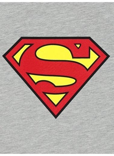Superman Sweatshirt Gri